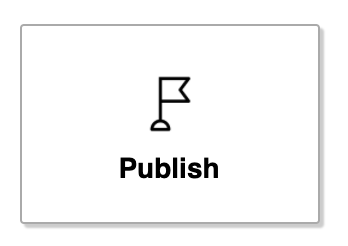 Publish Room button in the editor