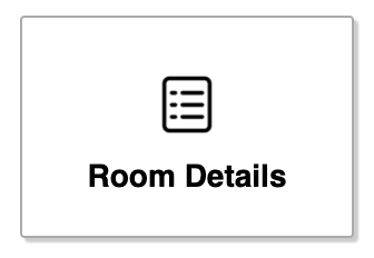 Room details button in the editor
