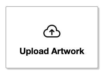 Upload artworks button in the editor